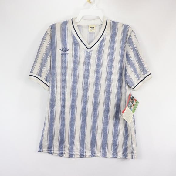 9ae9883477 Umbro Shirts | 80s New Mens Large Short Sleeve Soccer Shirt | Poshmark